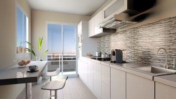 Sleek modern kitchen - Interior Design02