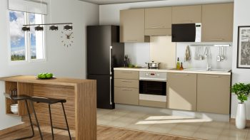 Compact kitchen - Interior Design01